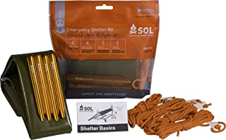 SOL(ソル) Emergency Shelter Kit (エマージェンシーシェルターキット) 簡易シェルター 軽い 290g [並行輸入品]
