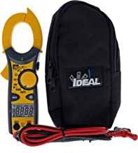IDEAL INDUSTRIES INC. 61-744 Clamp Meter 600 Amp AC with NCV, Voltage Indicator, CATIII for 600v