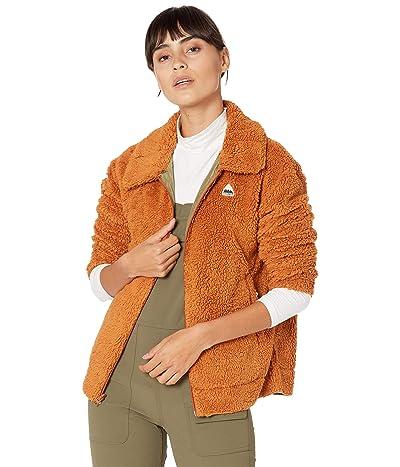 Burton Lynx Full Zip Reversible Fleece Jacket (True Penny/Martini Olive) Women