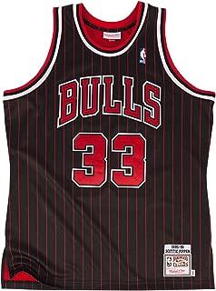 Mitchell & Ness Men's Chicago Bulls Authentic Scottie Pippen #33 Basketball Jersey