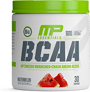 MP Essentials BCAA Powder, 6 Grams of BCAA Amino Acids, Post-Workout Recovery Drink for Muscle Recovery and Muscle Building, Valine Powder, BCCA Post-Workout, Watermelon, 30 Servings