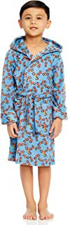 Image of Blue Motorcycle Robe for Boys