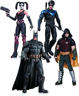DC Collectibles Arkham City Paquete de 4 Figuras de acción: