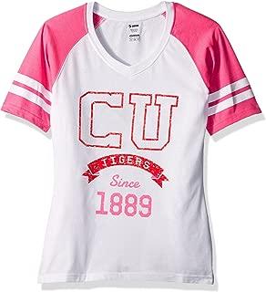 Soffe Womens Clemson Tigers S/Football Tee