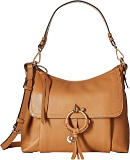 Medium Joan Leather Shoulder Bag