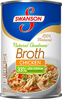 SwansonNatural Goodness Chicken Broth, 14.5 oz. Can  (Pack of 24)