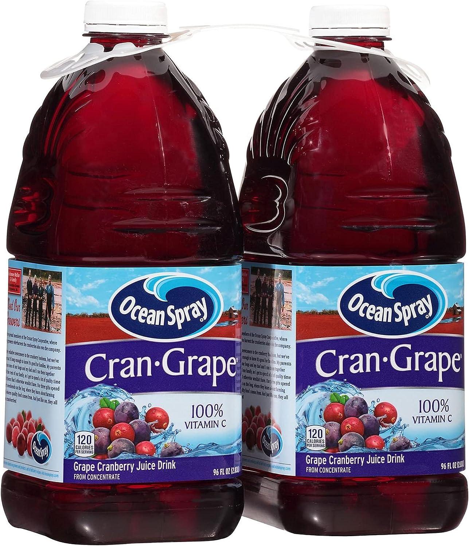 Ocean 35% OFF Spray Cran- Grape Juice Drink Fl. Oz 96 Wholesale 2 Pk. Regular discount