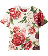Dolce & Gabbana Kids - Peonie T-Shirt (Big Kids)