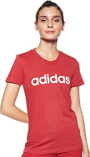adidas Women's Essentials Linear Slim T-Shirt