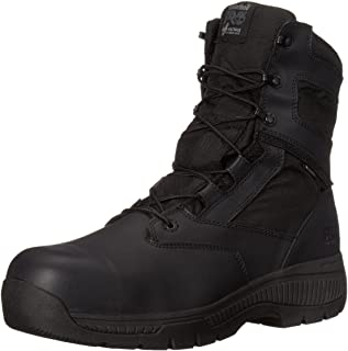 Timberland PRO Men's 8 Valor Composite-Toe Waterproof Side-Zip Work Boot