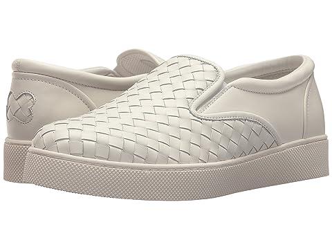 Bottega Veneta Intrecciato Leather Skate Sneaker