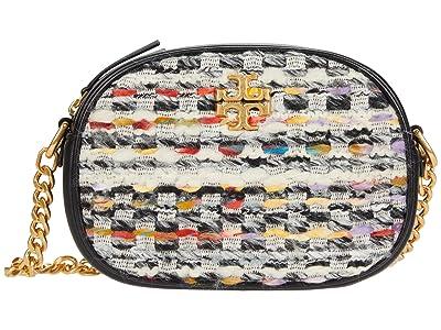 Tory Burch Kira Tweed Small Camera Bag (Multi) Handbags