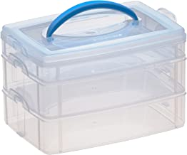 Snapware Snap 'N Stack 3-Layer Home Storage Container (6.6-Inches by 9.8-Inches)