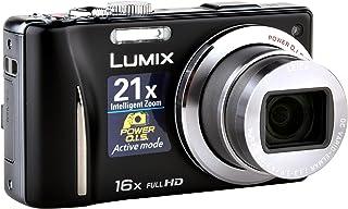 Panasonic Lumix DMC TZ20EG K Digitalkamera (14 Megapixel, 16 Fach Opt. Zoom, 7,5 cm (3 Zoll) Display, bildstabilisiert) schwarz