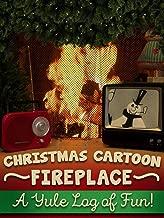 Christmas Cartoon Fireplace - A Yule Log of Fun!