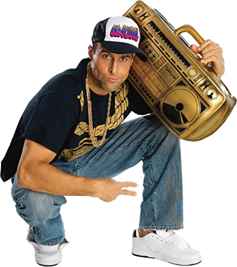90s Outfits for Guys | Trendy, Party, Cool, Casaul Rubies Costume Novelty Inflatable Ghetto Blaster  AT vintagedancer.com