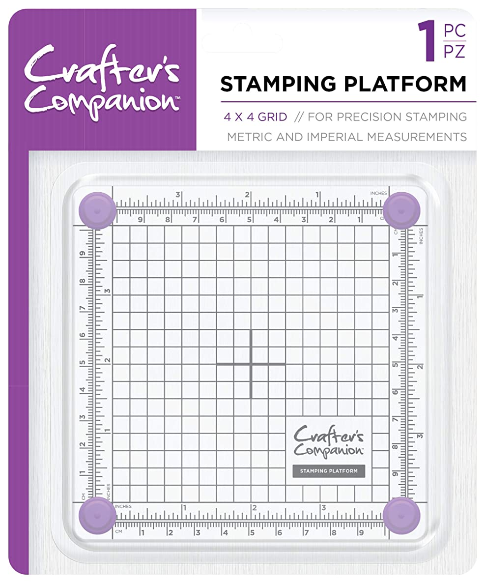 Crafter's Companion Stamping Platform-4