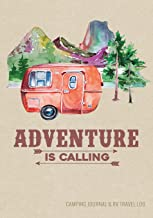 Camping Journal & RV Travel Logbook, Red Vintage Camper Adventure: Road Trip Planner, Caravan Travel Journal, Glamping Diary, Camping Memory Keepsake ... for Campers & RV Retirement Gifts Series)