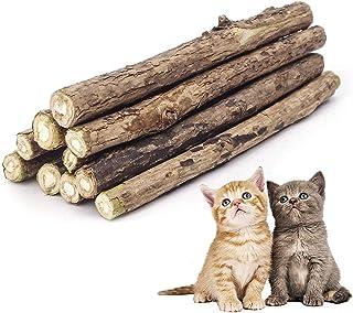 CZ Store®-Matatabi|Lot de 10|✮✮Marque Française+Garantie A Vie✮✮-cataire/Catnip Bio Naturel pour Protection Soins dentaire...