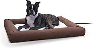 K&H Pet Products Deluxe Lectro-Soft Outdoor Heated Bed with Bolster