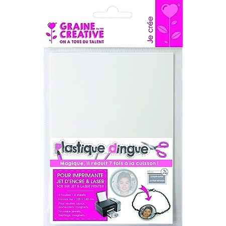 Plastique Dingue Imprimable 4 feuilles A6