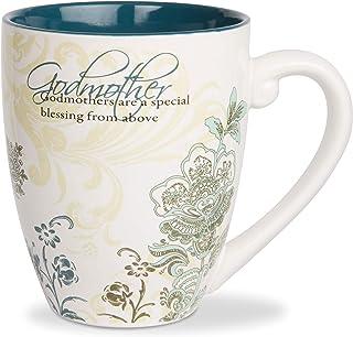 Mark My Words Godmother 20 Ounce Mug, Pavilion Gift, 4-3/4-Inch