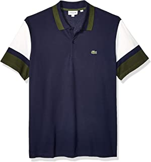 Lacoste Men's S/S Colorblock Strech Pique Slim Fit Polo