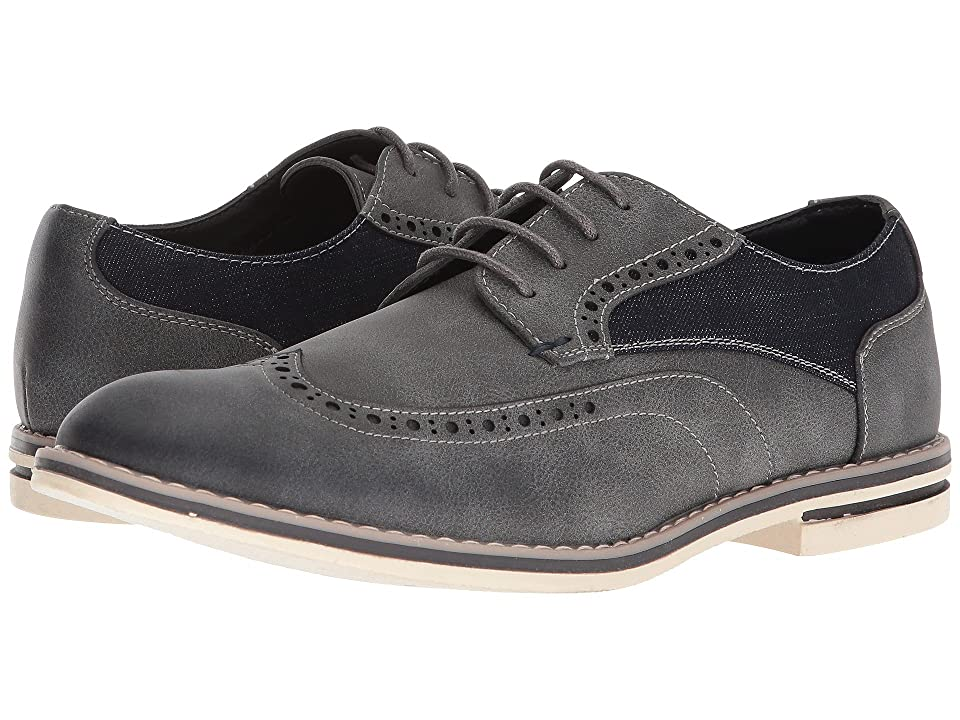 Kenneth Cole Unlisted Ozzie Lace-Up (Dark Grey) Men