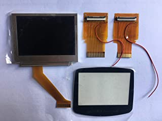 Gameboy Advance GBA MOD Backlit AGS-101 Screen with ribbon cable upgrade kit
