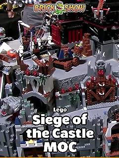 Clip: Lego Siege of the Castle MOC