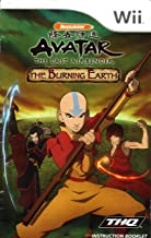 Avatar The Last Air Bender -The Burning Earth Wii Instruction Booklet (Nintendo Wii Manual Only) (Nintendo Wii Manual)