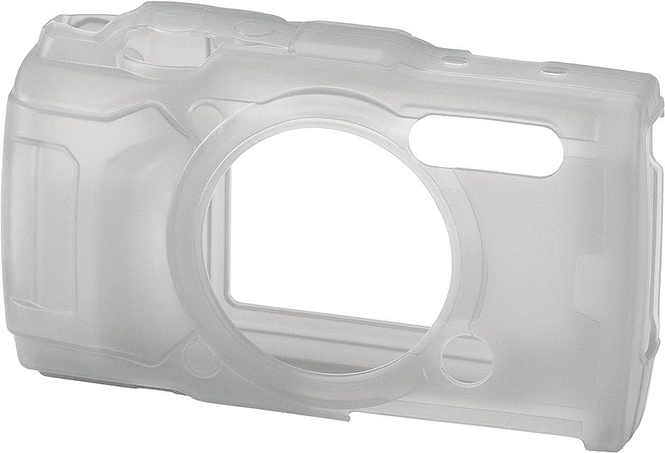 Olympus CSCH-126 - Funda de Silicona para cámana Tough TG-5 Color Negro