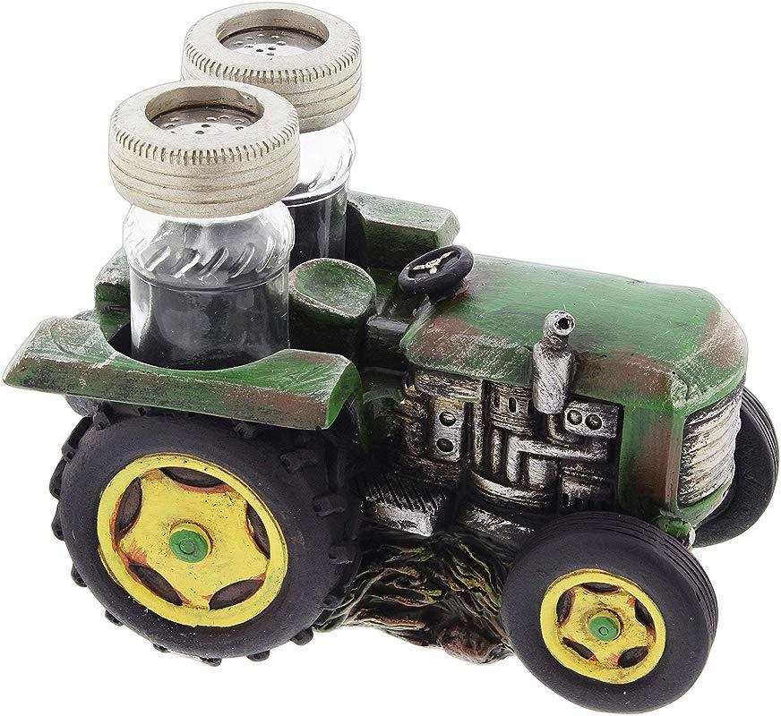 Farm Tractor Salt Pepper Shaker Set