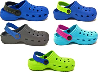 Carcassi Children's Kids Girls Boys Holiday Summer Pool Clogs Sandals Shoes Size 4-2