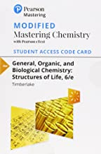 Modified Mastering Chemistry with Pearson eText -- Standalone Access Card -- for General, Organic, and Biological Chemistry: Structures of Life (6th Edition)