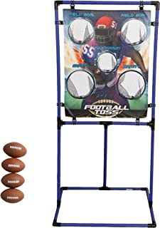 Sport Squad Target Toss Game Set - Choose Either Football Toss or BaseballToss - Portable Indoor or Outdoor Design for Cookouts, Tailgates, or Backyard Fun