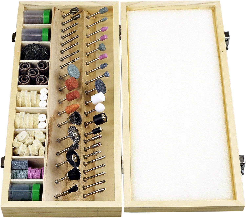 Power & Hand Tools SE RA9228 228-Piece Rotary Tool Accessories Kit ...