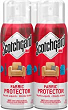 Scotchgard Fabric & Upholstery Protector, 2 Cans/10-Ounce (20 Ounces Total)