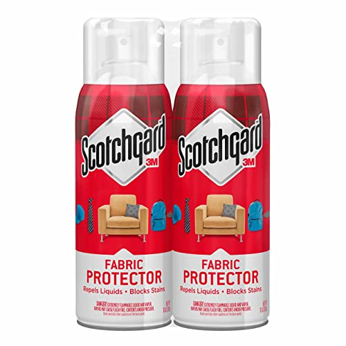 Scotchgard Fabric & Upholstery Protector, 2 Cans/10-Ounce (20 Ounces Total