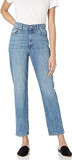 Women's Standard Miranda High-Rise Straight Fit Ankle Jean