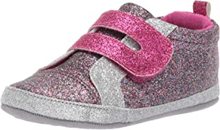 Ro + Me by Robeez Kids` Glitter Athletic Sneaker Crib Shoe