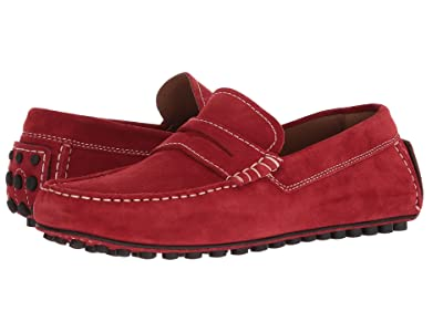 Robert Talbott Le Mans (Red Suede) Men