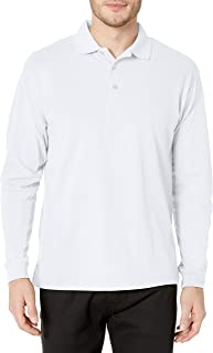 CLIQUE Men's Long-Sleeve Evans Pique Polo