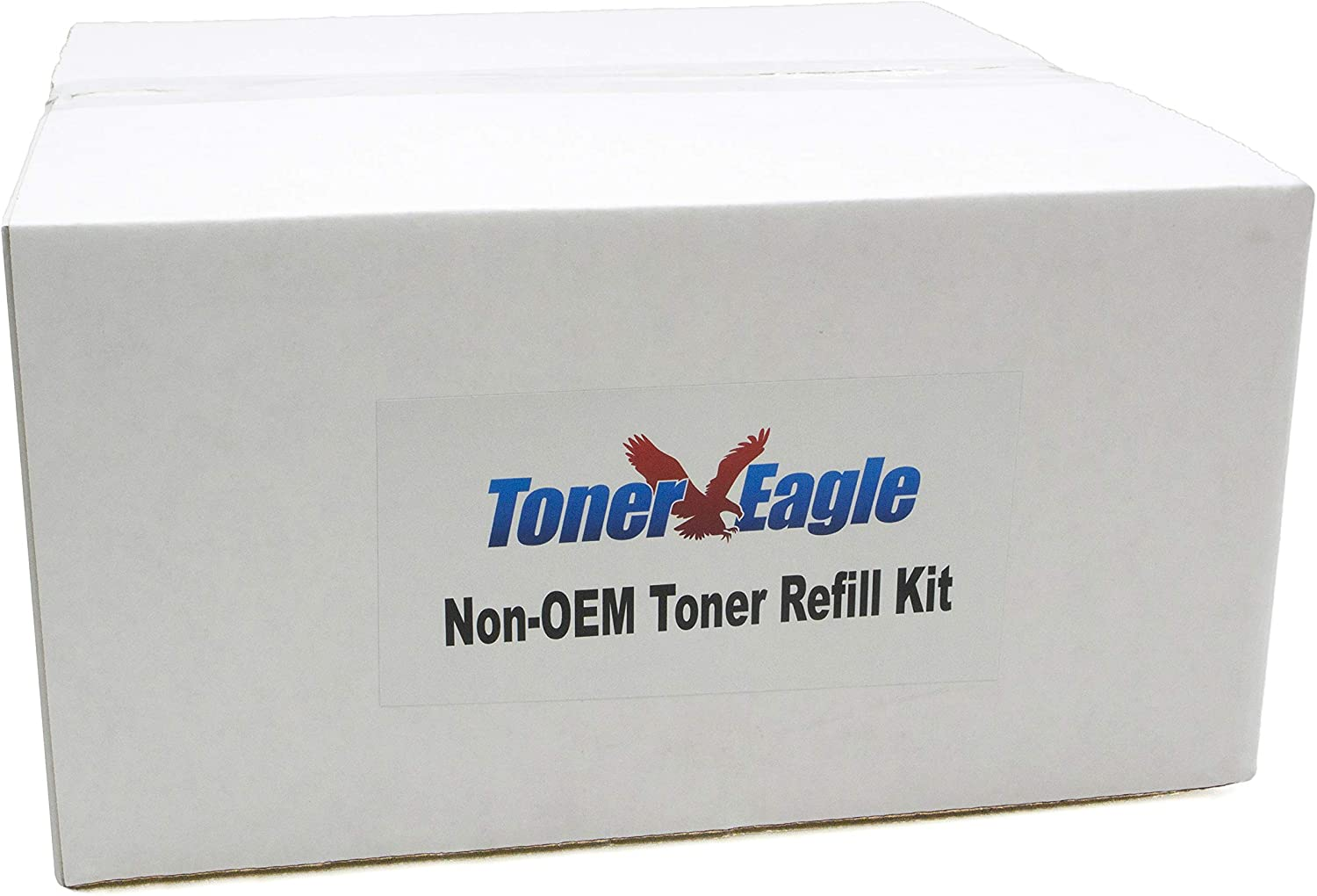 Toner Eagle Toner Refill Kit Compatible with HP 4350dtn 4350dtnsl with Chips [Black, 2-Pack]