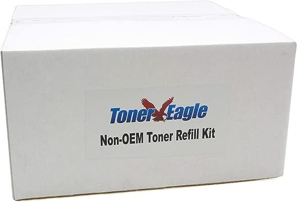 墨粉 Eagle 墨粉补充装套件兼容 Lexmark MS810de MS810dn MS810dtn MS810n 带芯片黑色 3 个装