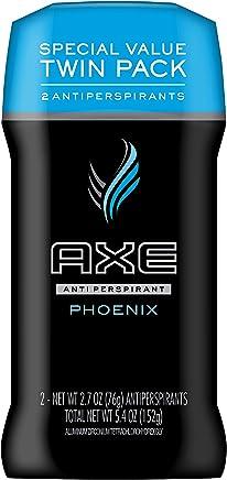 AXE Antiperspirant Deodorant Stick for Men, Phoenix, 2.7 oz, Twin Pack