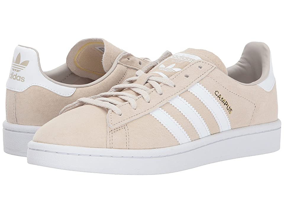 low priced ddf90 61927 adidas Originals Campus (Clear Brown Chalk White) Women s Shoes