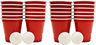 Black Duck Brand Set of 2 Mini Beer Pong Game Sets! Shot Pong Game!