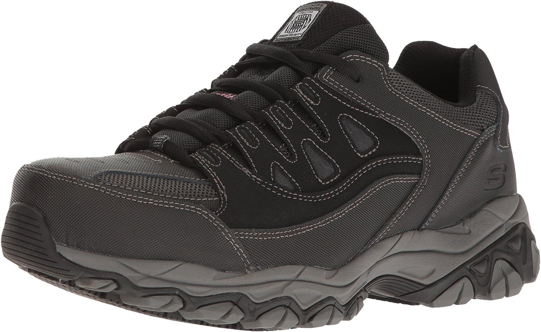 Skechers for Work herrar Holdrödge Work skor, skor, skor, svart, 7 M USA  erbjudanden försäljning