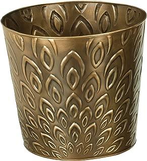 Regal Art & Gift Bronze Lotus Tapered Planter, 10